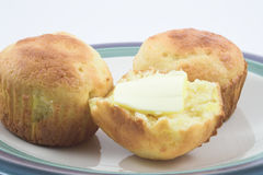 булочки cornbread Стоковые Изображения
