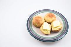 булочки cornbread Стоковое Изображение