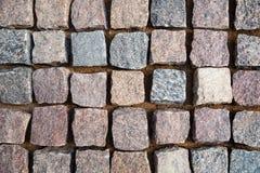 Булыжник гранита каменный r стоковое изображение rf