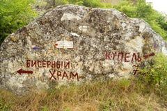 Булыжник с виском шарика надписи и Kupel и direc стоковые изображения rf
