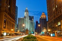 бульвар chicago Мичиган Стоковые Изображения RF