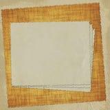 бумага абстрактной карточки предпосылки старая Стоковая Фотография