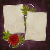 бумага абстрактной карточки предпосылки старая Стоковые Изображения RF