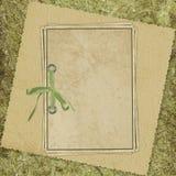 бумага абстрактной карточки предпосылки старая Стоковое Изображение