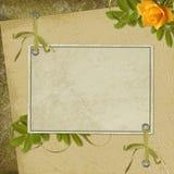 бумага абстрактной карточки предпосылки старая Стоковое фото RF