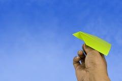 бумага аэроплана стоковые фотографии rf