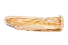 бумага багета мешка свежая Стоковые Фото