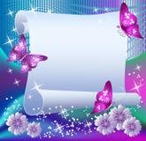 бумага волшебства предпосылки иллюстрация штока