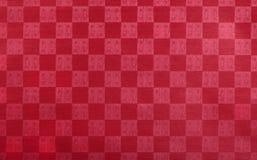 Бумага выбитая красным цветом Стоковая Фотография RF