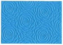 Бумага выбитая синью Стоковая Фотография