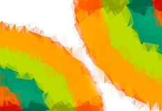 Бумага в живом цвете - славной текстуре для апельсина дизайна элемента, зеленом цвете, красном иллюстрация вектора