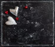 бумага влюбленности grunge карточки предпосылки Валентайн открытки s дня Стоковое Изображение