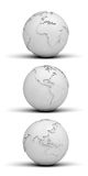 бумага глобусов иллюстрация штока