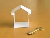 бумага дома Стоковые Фотографии RF