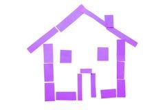 бумага дома Стоковое Фото
