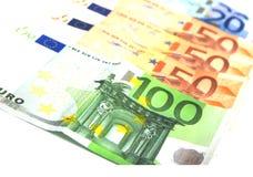 бумага евро Стоковое Изображение RF