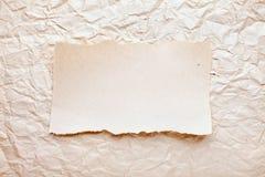 бумага задавленная предпосылкой Стоковые Фотографии RF