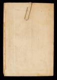 бумага зажима старая Стоковая Фотография RF