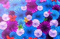 бумага искусственних цветков Стоковые Изображения RF