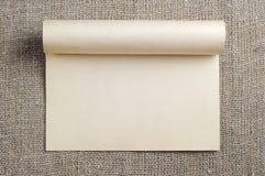 Бумага и sacking Стоковое Изображение