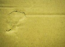 Бумага картона и дефект удара Стоковое Изображение RF
