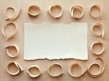бумага карточки handmade Стоковые Изображения RF