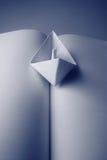 бумага книги шлюпки Стоковые Изображения