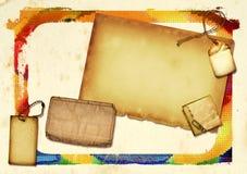 бумага коллажа Стоковые Фотографии RF