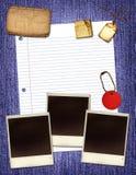 бумага коллажа Стоковое Изображение RF
