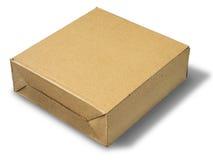 бумага коробки коричневая Стоковое Фото