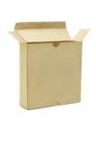 бумага коробки открытая Стоковая Фотография RF