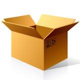 бумага коробки пустая Стоковое Изображение RF