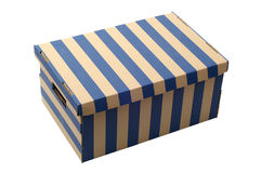 бумага коробки Стоковая Фотография