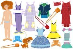 бумага куклы Стоковое Изображение