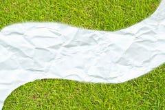 бумага лужка Стоковая Фотография