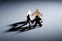 бумага людей Стоковое Фото