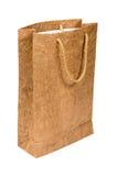 бумага мешка коричневая Стоковые Изображения