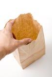 бумага мешка коричневая Стоковое Изображение