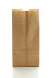 бумага мешка коричневая Стоковое Изображение RF
