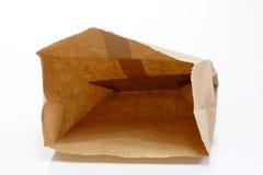 бумага мешка пустая Стоковое Изображение