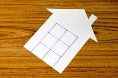 Бумага дома Стоковое фото RF