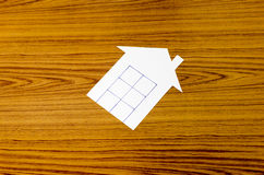 Бумага дома Стоковая Фотография RF