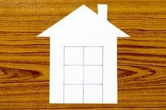 Бумага дома Стоковое Изображение RF