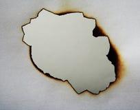 бумага отверстия Стоковое Изображение RF