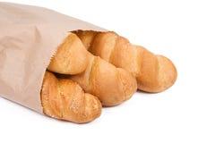 бумага пакета хлеба Стоковые Изображения