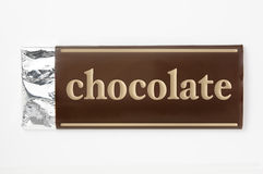 бумага пакета шоколада Стоковые Изображения