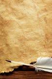 бумага пера старая Стоковые Фотографии RF