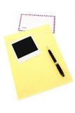 бумага письма габарита воздушной почты Стоковые Изображения RF