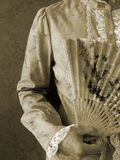 бумага повелительницы вентилятора Стоковые Изображения RF