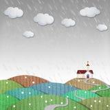 Бумага погоды стоковое фото rf